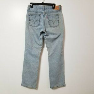 Levis 550 Womens Jeans 12 M Measures 31x31 Relaxed